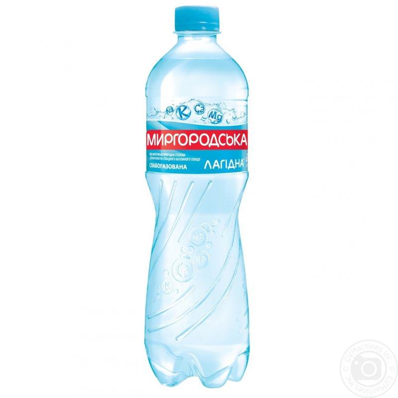 Минеральная вода Миргородская Лагидна природная слабогазированная пластиковая бутылка 750мл Украина