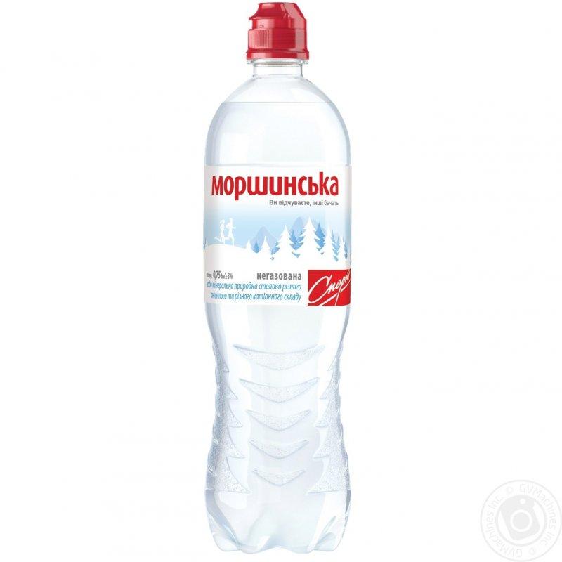 Купить Минеральная вода Моршинская природная негазированная пластиковая бутылка 750мл Украина