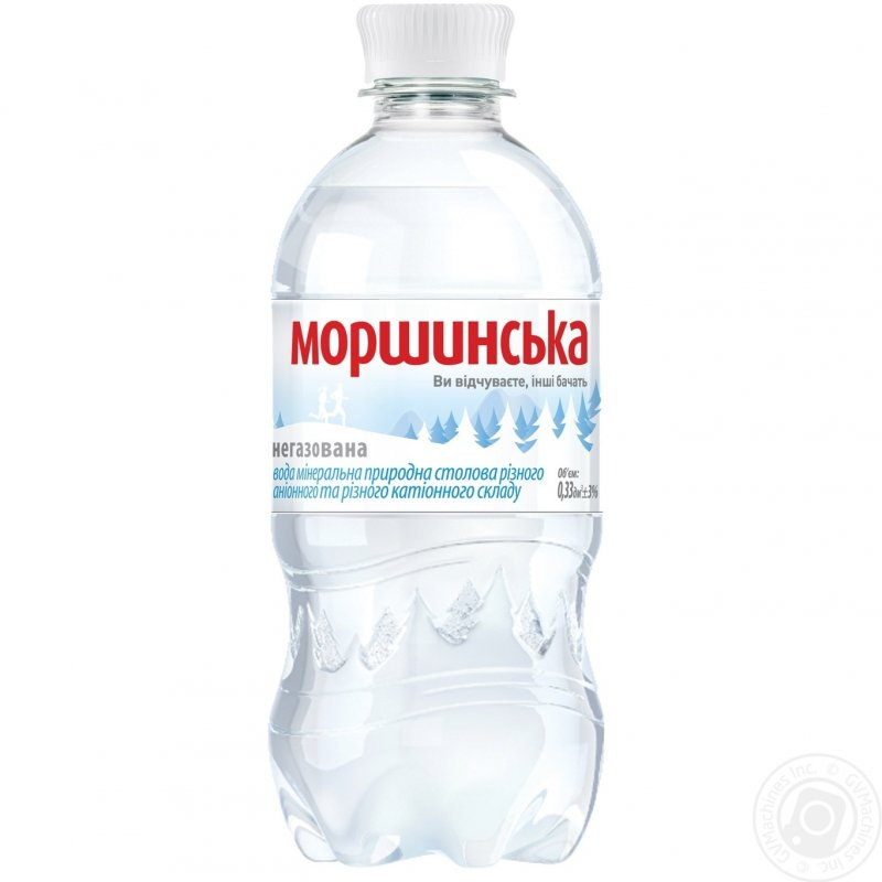 Купить Моршинська вода Н/Г ПЕТ 0,33Л