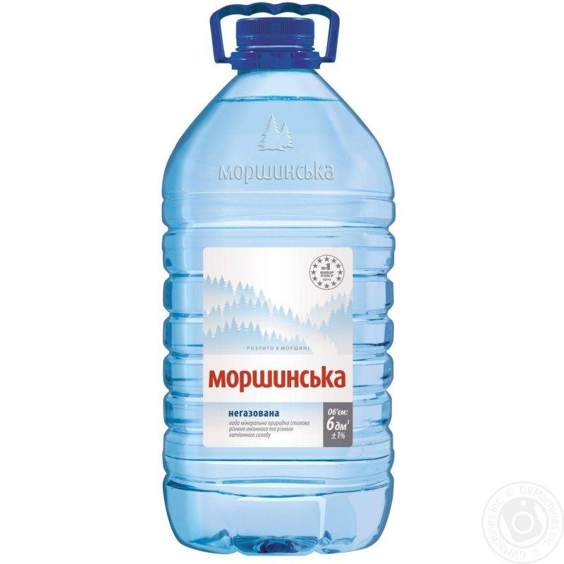 Моршинська вода негаз. 6Л