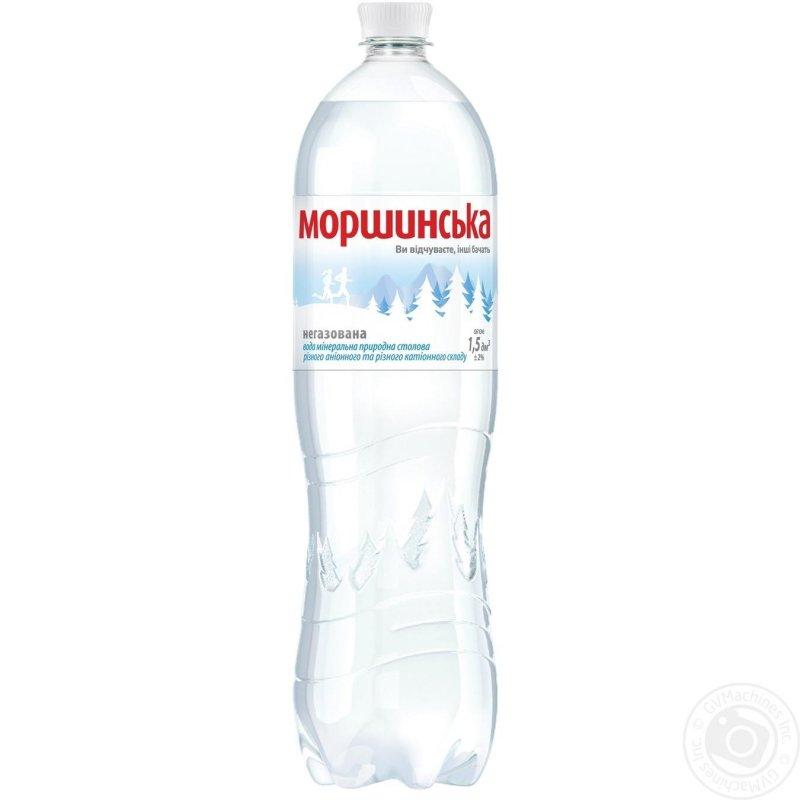 Купить Минеральная вода Моршинская негазированная пластиковая бутылка 1500мл Украина