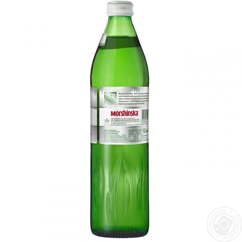 Buy Mineral water the Morshinsky natural not aerated glass bottle of 500 ml Ukraine