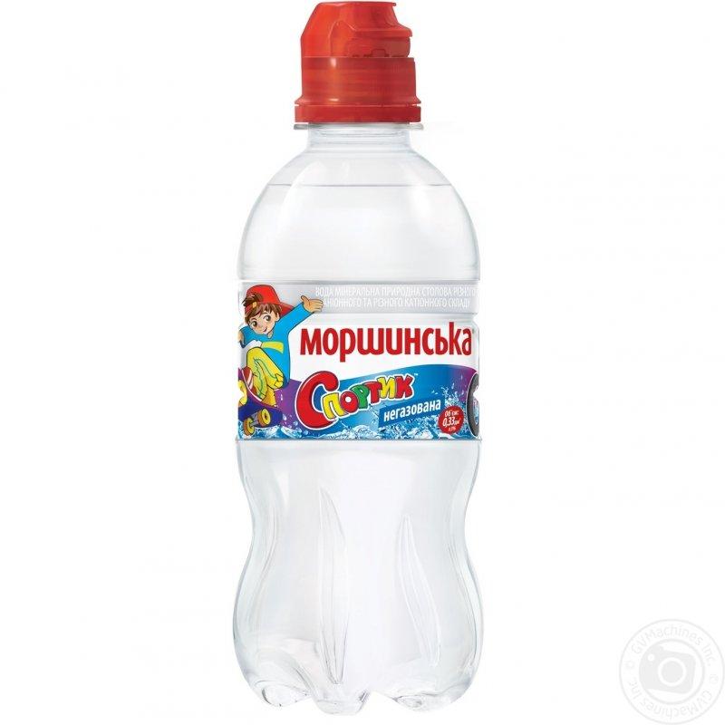 Природная вода Моршинская Спортик негазированная пластиковая бутылка 330мл Украина