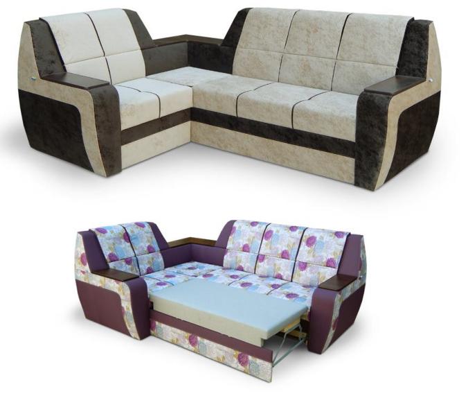 El sofá angular el Diplomátic