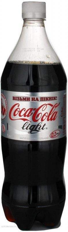 Вода Coca-cola light, 1л (12 штук)