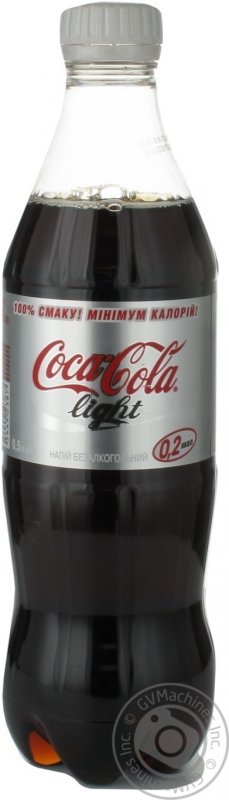 Напій Coca-Cola light безалкогольний сильногазований, 0,5л