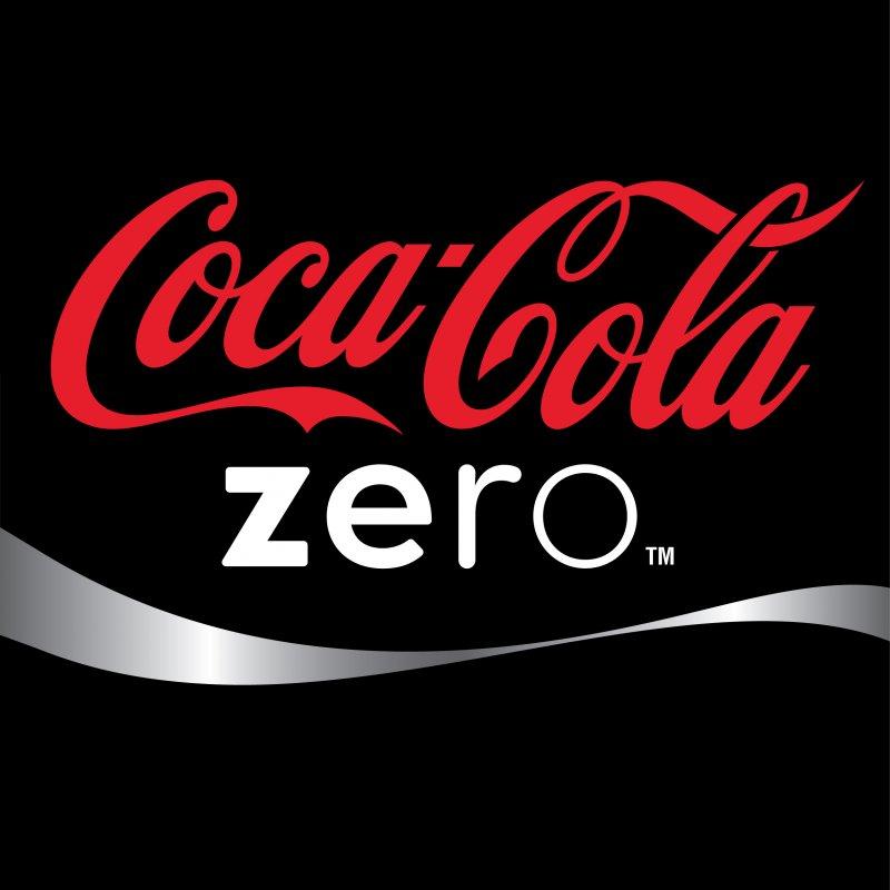 Вода Coca-cola Zero скло