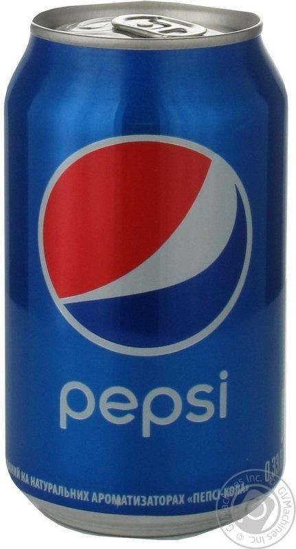 Вода Pepsi ж/б, 0.33л