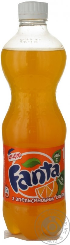 Вода Fanta апельсин 0,5л (12 штук)