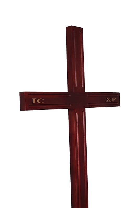 Крест деревянный КАТОЛИЧЕСКИЙ