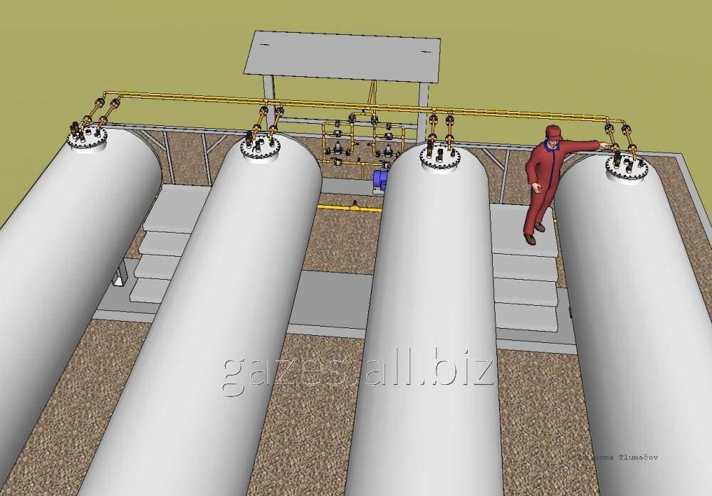 Газозаправочная компрессорная станция