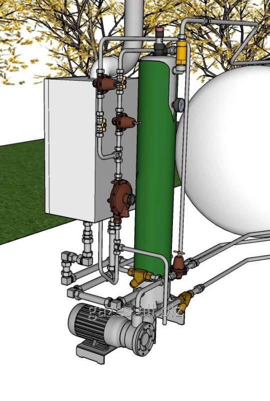 Регуляторы, испарители, Оборудование для автономного газоснабжения и газовых станций