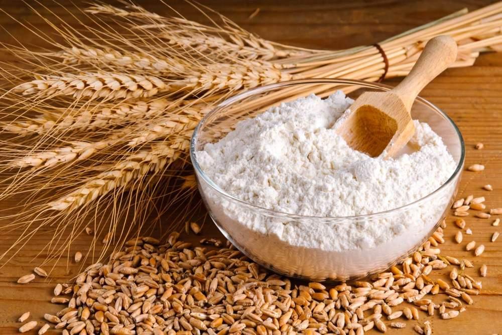 Мука пшеничная 1-й сорт фасовка 50 кг полипропилен