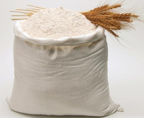 Мука пшеничная 2-й сорт фасовка 45 кг полипропилен