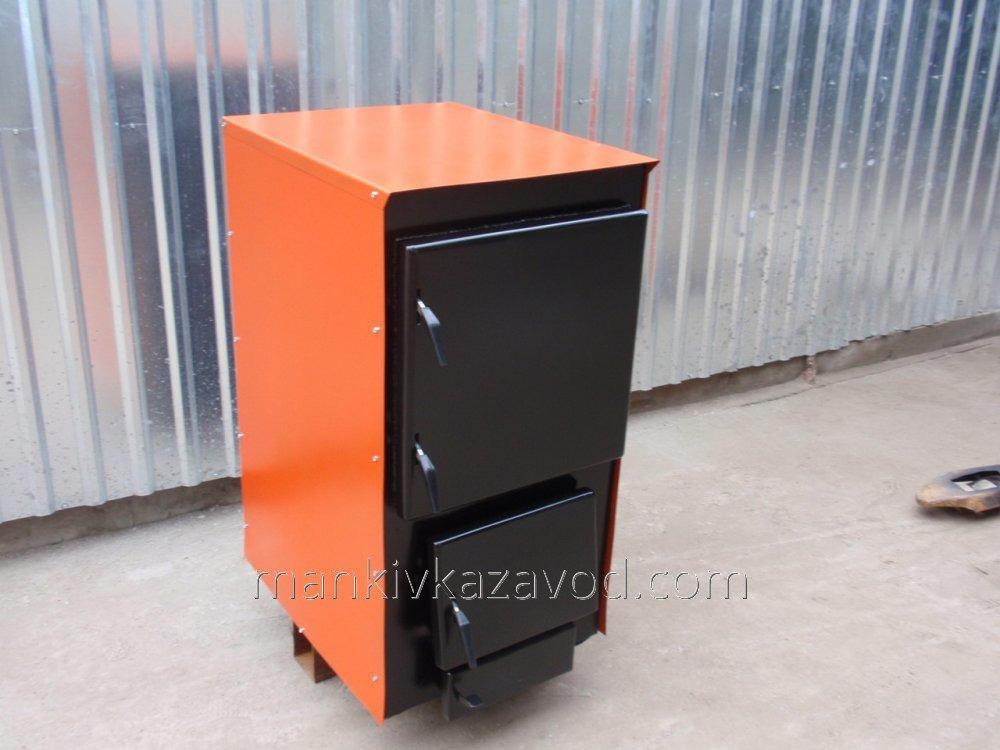 Котел твердопаливний жаротрубний 16 кВт