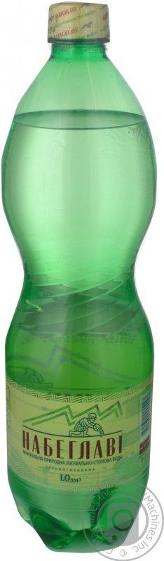 Купить Вода Набеглави сильногазированная лечебно-столовая пластиковая бутылка 1000мл Грузия