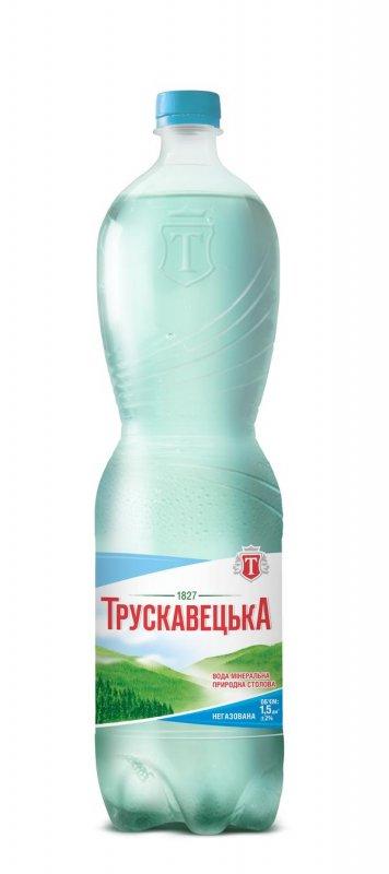 Минеральная вода Трускавецкая природная негазированная пластиковая бутылка 1500мл Украина