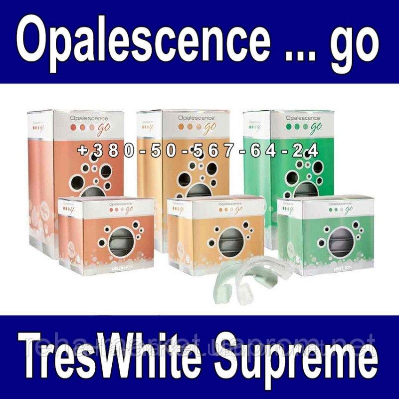 Отбеливающий гель в капах 10Шт/Уп Opalescence Go Treswhite Supreme
