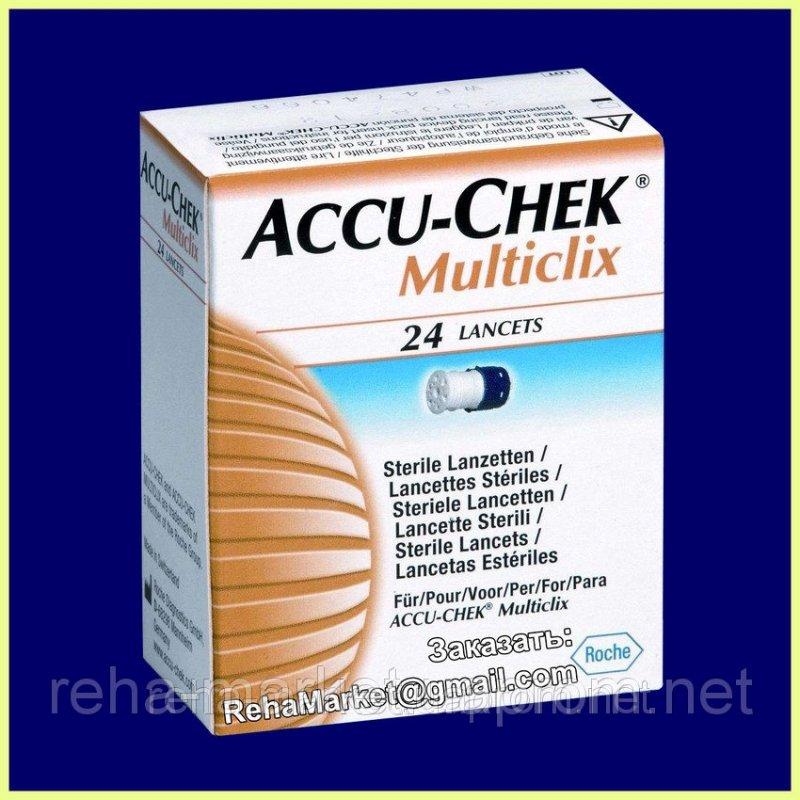 Accu-Chek Multiclix Акку-Чек Мультикликс 24