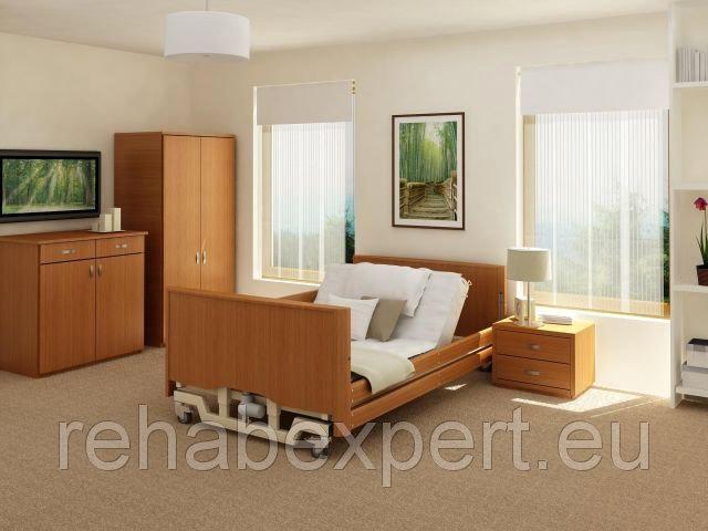 Купить Усиленная Бариатрическая Медицинская Кровать до 318кг Professional Bariatric Lux Low Reha Bed