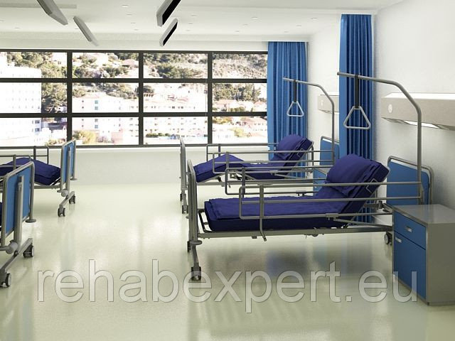 Купить Электрическая Усиленная Медицинская Кровать Electrically operated hospital bed Taurus Med max 210kg