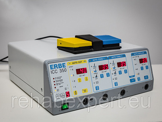 Купить Б/У Диатермиа Электрохирургический аппарат ERBE ICC 350 Electrosurgical Diathermy Unit