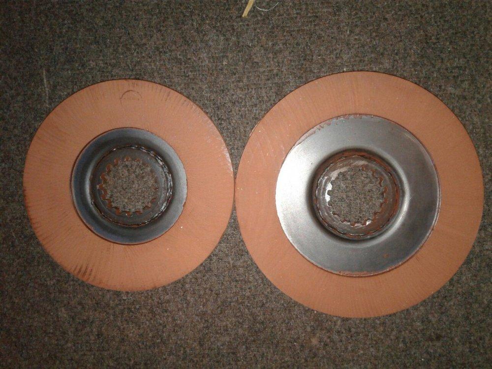Disk of brake MTZ 80/82,1221,1225
