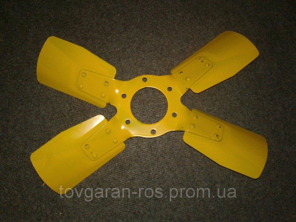 Вентилятор 240-1308040 4-х лопастной (метал.) крыльчатка