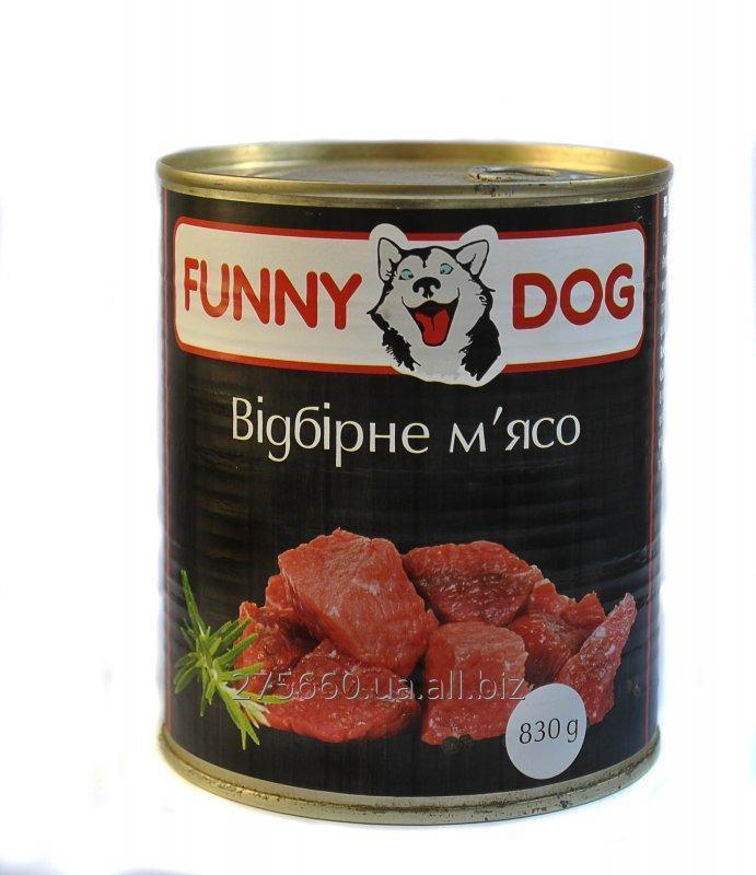 Купить Корм для собак FUNNY DOG
