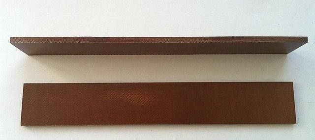 Лопатка текстолитовая к насосам  УВД-10 ; УВБ ; ДВН;