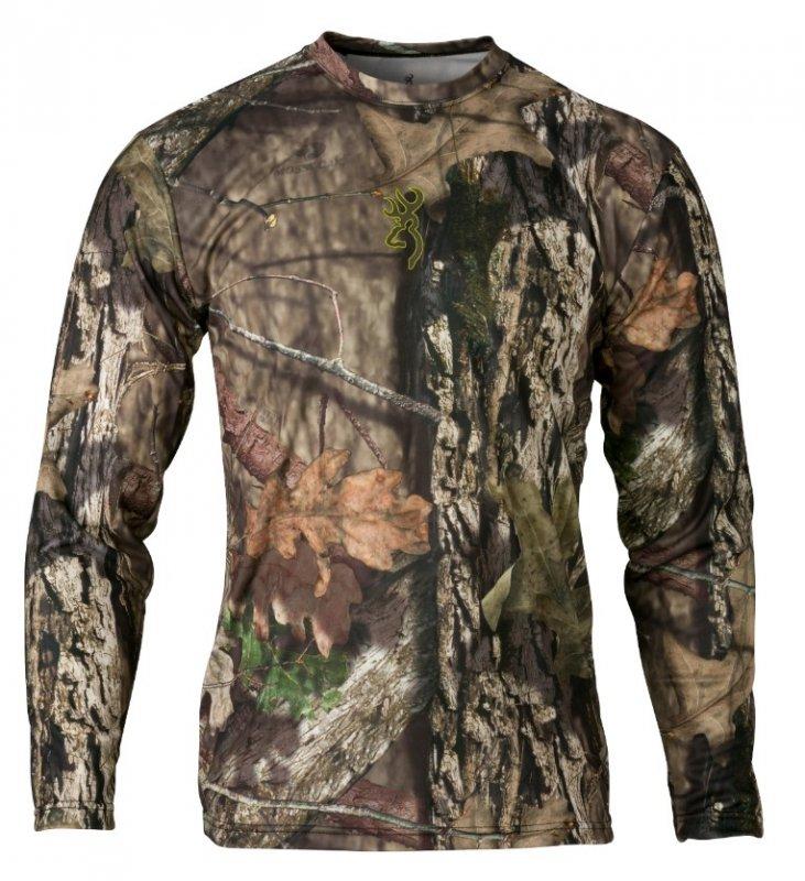 Футболка для охоты и рыбалки Browning Vapor Max Long Sleeve Shirt