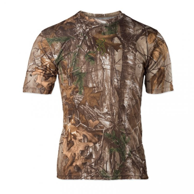 -shirt for hunting and fishing of Browning Vapor Max Short Sleeve Shir