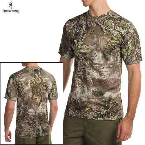 Футболка для охоты и рыбалки Browning Vapor Max Short Sleeve Shirt