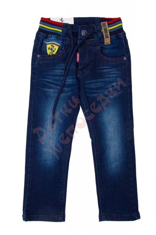 a3b232f9265e Джинсы для мальчика Эмблема Ferrari Ferrari, синий, 116, 92-116, 116 ...
