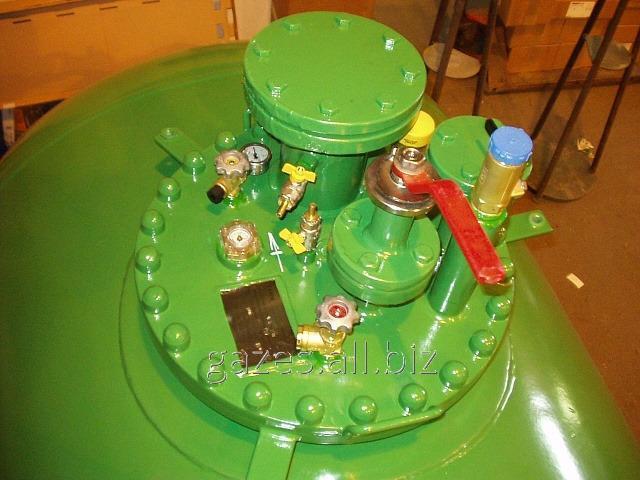 Байпасс, предохранительный клапан, обратный и скоростные клапана, мультиклапан жидкой и газовой фазы с манометром, шаровые запорные краны  - Оборудование для АГЗС, ГНС, автономного газоснабжения