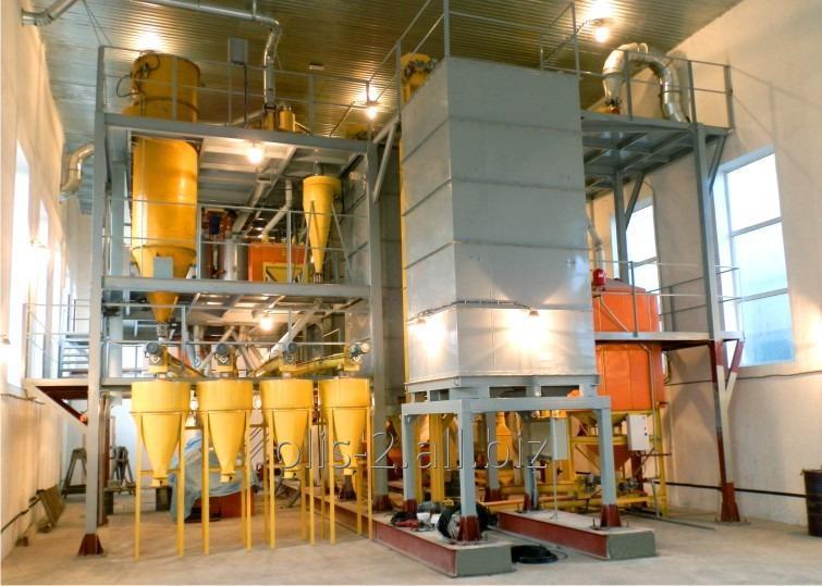 Мельница сортового помола пшеницы производительностью 30 т/сут