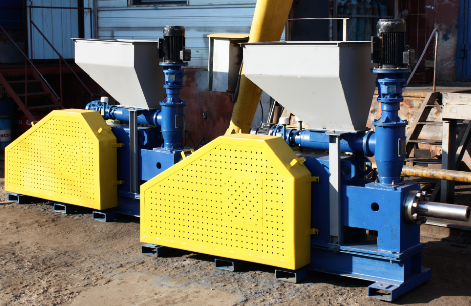 Пресс брикетировочный ПБ – 75. Производительность 500 – 800 кг/час. Оборудование для производства топливных брикетов типа nestro