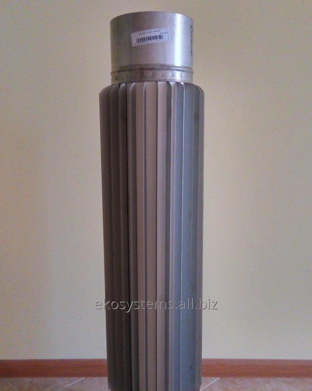 Купить Труба-радиатор нерж. ф 100 мм, сталь 0,8 мм, длинна 1 м