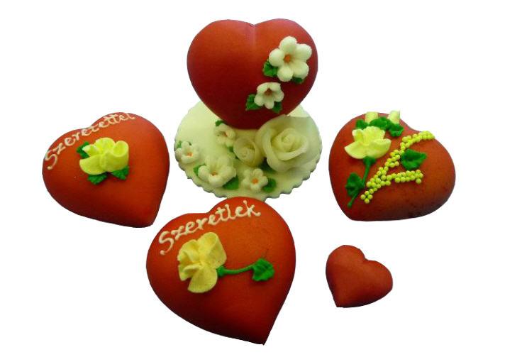 Купить Марципановые сердечки, марципановые изделия