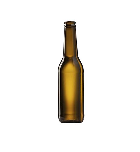 Стеклянная бутылка под пиво 330 ml