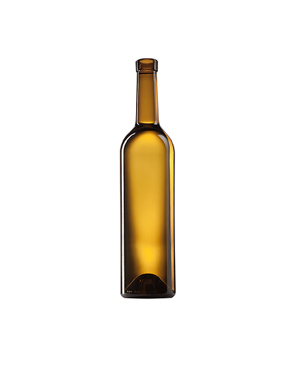 Стеклянная бутылка для вина 750 ml, Bartop, цвет коричневый