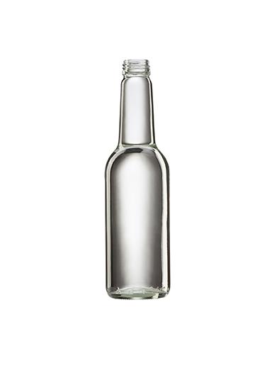 Стеклянная бутылка для вина 375 ml