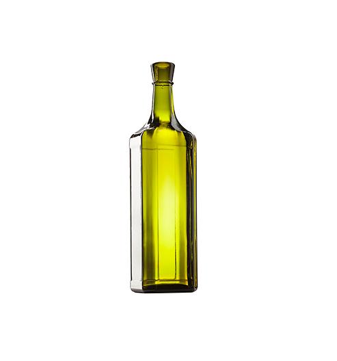Стеклянная бутылка для вина 750 ml, Special finish, цвет кюве