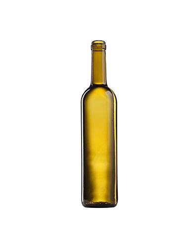 Стеклянная бутылка для вина 700 ml, Cork, коричневого цвета