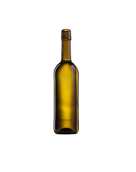Стеклянная бутылка для вина 750 ml, Swing stopper, цвет кюве