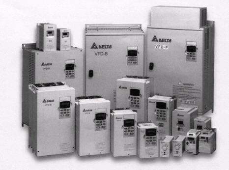 Преобразователи частоты фирмы DELTA Electronics
