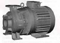 Насосы типа КM – центробежный консольный моноблочный одноступенчатый, с односторонним подводом жидкости к рабочему колесу