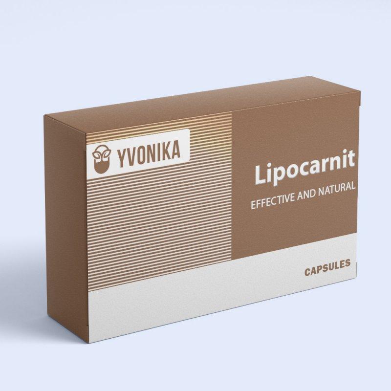 Натуральные капсулы Lipocarnit Липокарнит для похудения