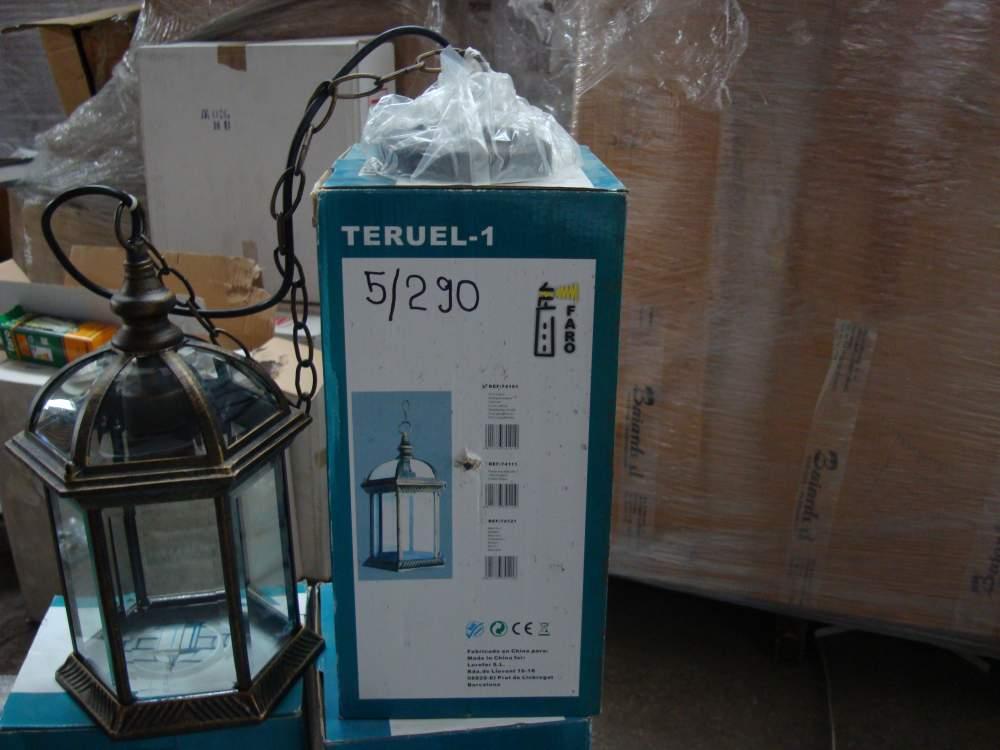Светильник потолочный подвесной Faro