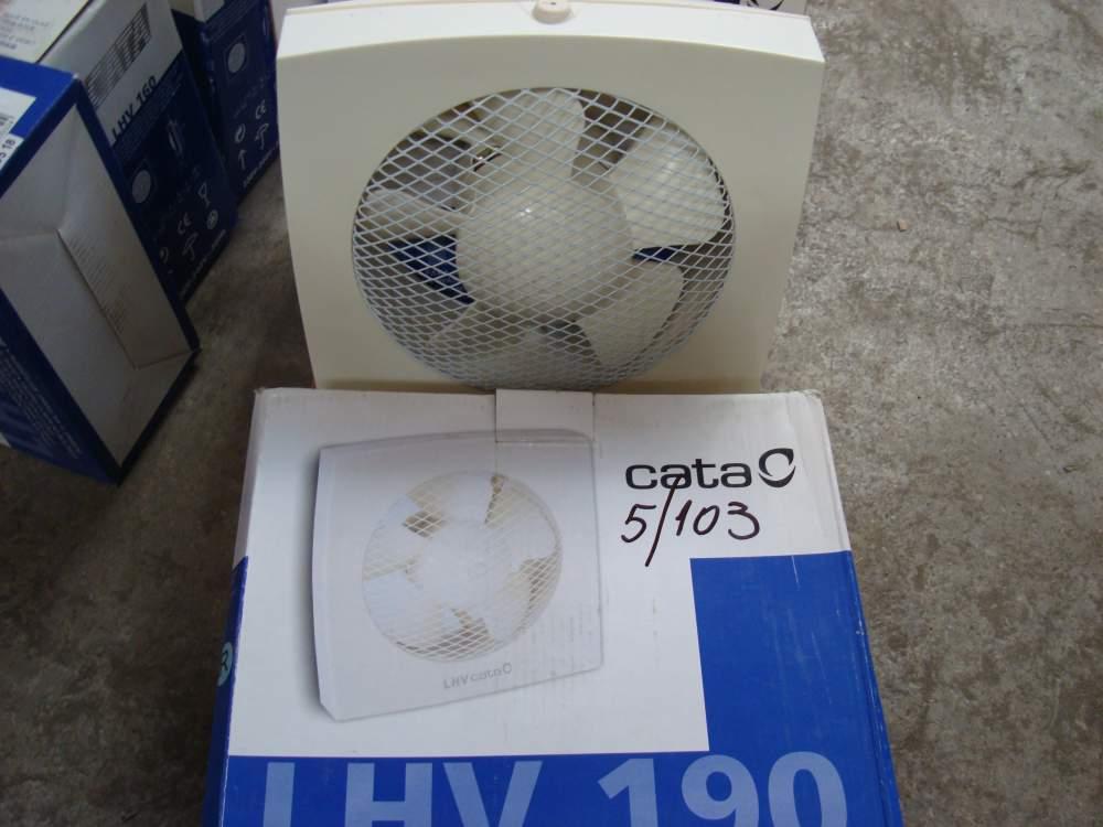 Вентилятор вытяжной настенный Cata